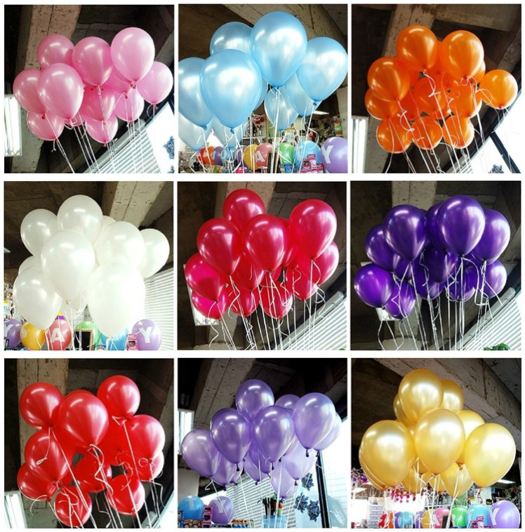HOT-SALE-100pcs-lot-10-inch1-2g-Latex-font-b-Balloon-b-font-Helium-Thickening-Pearl